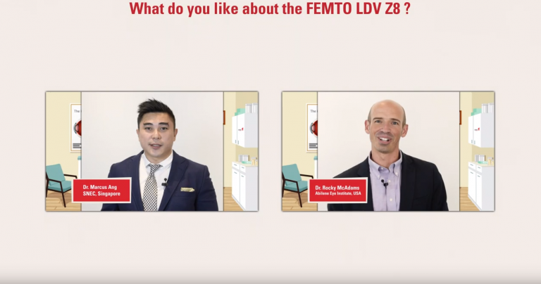 Dr. Ang and Dr. McAdams tell us what they like about the FEMTO LDV Z8