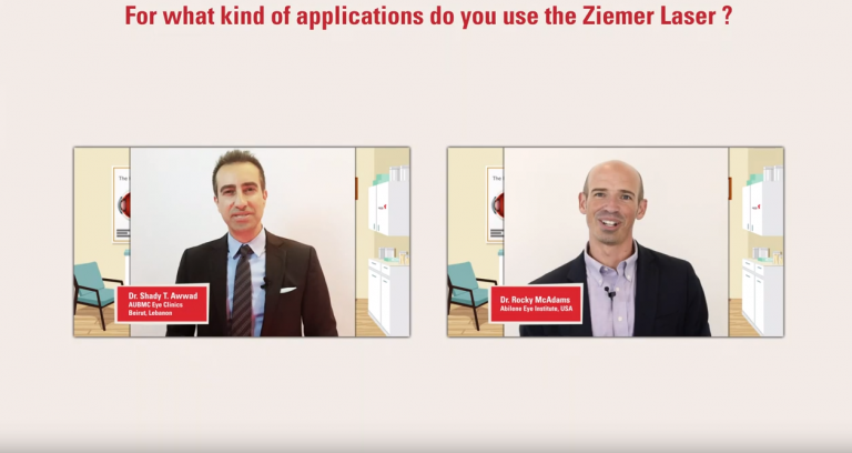 Prof. Awwad  and Dr. McAdams explain, which applications they use with the FEMTO LDV Z8