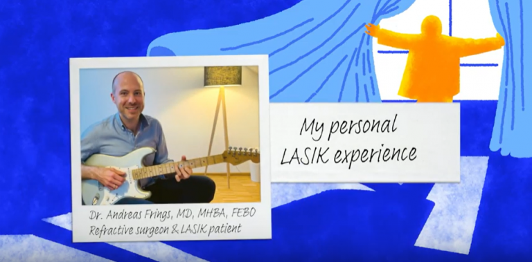 Dr. Frings - My Personal LASIK Experience